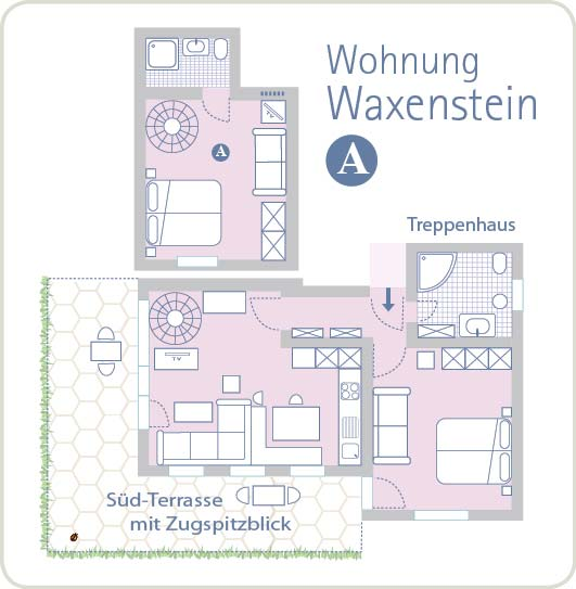 Grundriss Waxenstein A