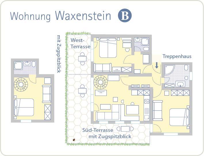 Grundriss Waxenstein B