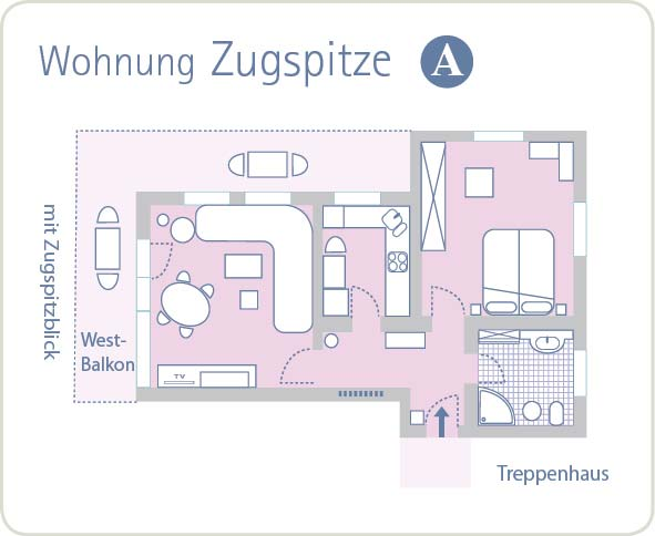 Grundriss Zugspitze A